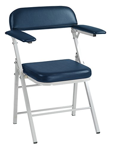 (Custom Comfort CCI JA1201-FC High Capacity Folding Blood Draw Phlebotomy Chair with 300 lb Capacity Made In USA)