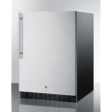 Summit SPR627OSSSHV Outdoor Built-in All-Refrigerator (Black)