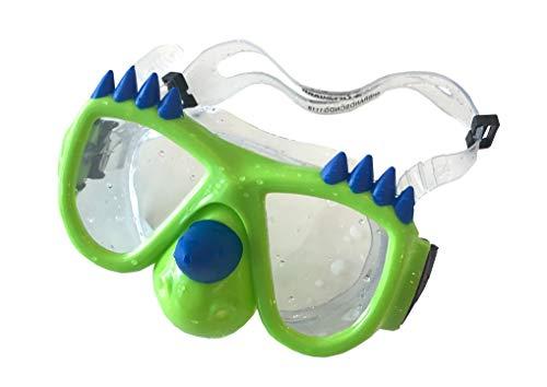 LIFEGUARD Kids Dinosaur Goggles Swim Mask Ages 3+ Latex Free