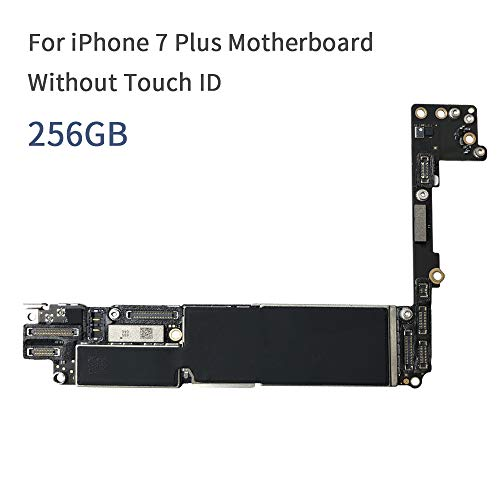 for iPhone 7 Plus Motherboard 5.5 inch Full Unlocked No Touch ID iOS System Mainboard Without Touch ID 32GB 128GB 256GB (256GB No Touch ID)