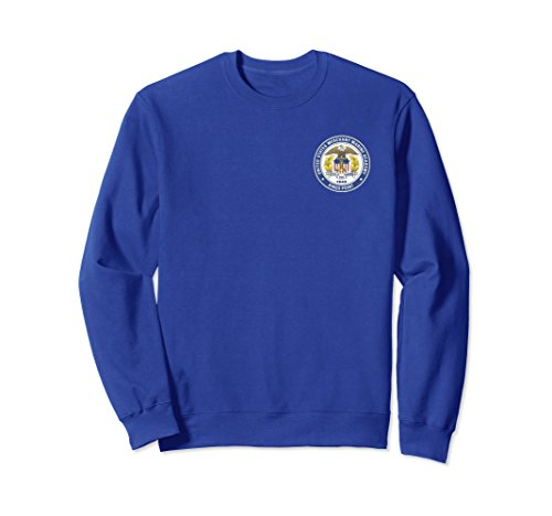 Marines Logo Sweatshirt (Unisex MERCHANT MARINE ACADEMY SHIELD SWEATSHIRT XL: Royal Blue)