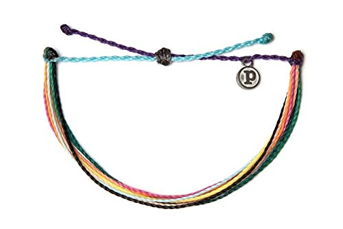 Pura Vida Hakuna Matata Single Bracelet - Handcrafted - 100% Waterproof Wax Coated Accessories ()