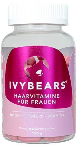 ivybears | Hair multi-vitamins | pelo vitaminas | Biotina, folic Acid, pelo vitaminas: Amazon.es: Belleza