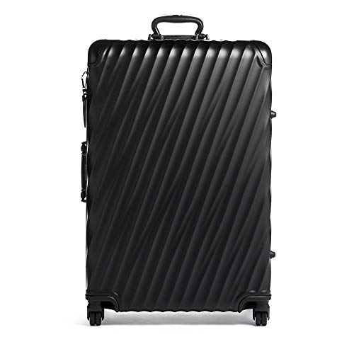 TUMI – 19 Degree Extended Trip Packing Case Large Suitcase – Hardside Luggage for Men and Women – Matte Black