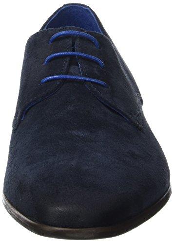 Azzaro Josso - Zapatos Derby Hombre Bleu (Navy)