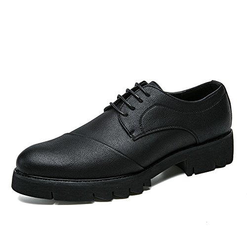 Business Classic Rotonda Scarpe da con Punta comode Casual Cricket Classic Nero Oxford Soft Men's Scarpe BdqUStt