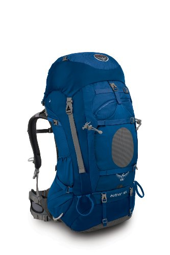 Osprey Aether 85 Backpack (Dusk Blue, Medium), Outdoor Stuffs