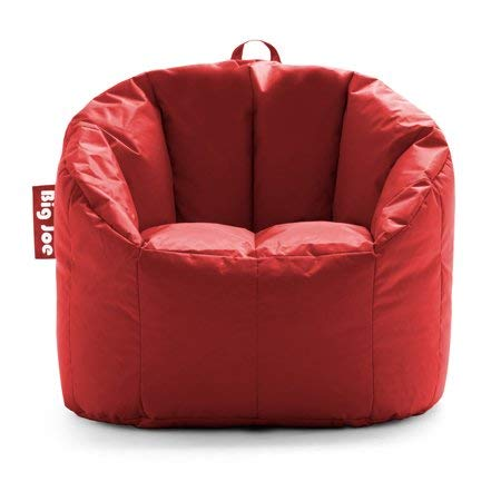 "Big Joe Milano Bean Bag Chair, Multiple Colors - 32"" x 28"" x 25"" - Fire Engine Red"