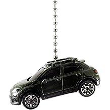 FIAT Diecast Cars & Trucks Ceiling Fan Light Pulls, Christmas Ornaments, Keychains - 1:64 (2016 Fiat 500X - Green)