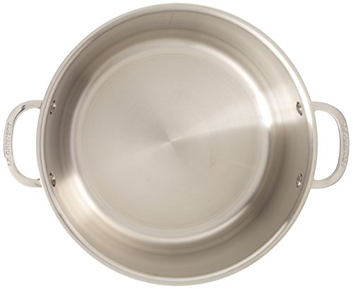 Le Creuset Tri-Ply Stainless Steel Stockpot with Lid, 7-Quart