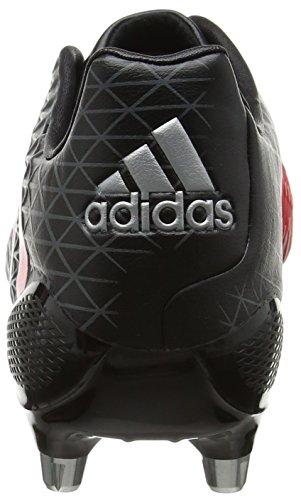 Adidas Predator Malice Sg, Chaussures de Rugby Homme, Noir (Negbas/Rojimp/Grivis), 42 EU