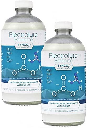 Electrolyte Supplement by LivePristine - Great Tasting Electrolyte Supplement with Magnesium Bicarbonate and Silica - for replenishing Critical nutrients and Calcium Assimilation (2 Bottles)