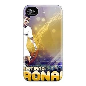 Angelerson Fashion Protective Cristiano Ronaldo 2013 Case Cover For Iphone 4/4s