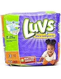 Luvs Ultra Leakguards Diapers Size 3 - 24 Count BOBEBE Online Baby Store From New York to Miami and Los Angeles
