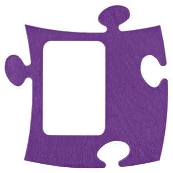 Amazon.de: Puzzle Rahmen 9 x 13 cm lila