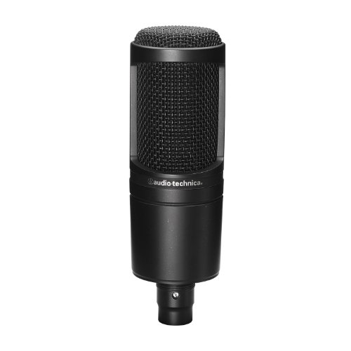 - Audio-Technica AT2020 Cardioid Condenser Microphone (Renewed)