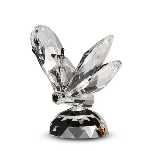Crystal Butterfly Figurine, 2