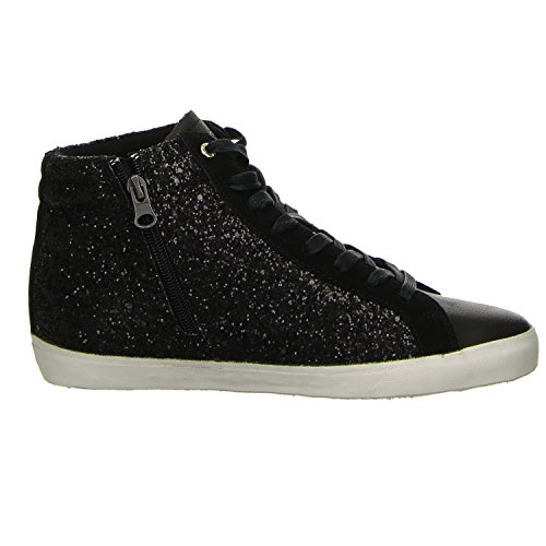 Hohe Damen Sneakers Guess Schwarz Holly HCfEwBB7q