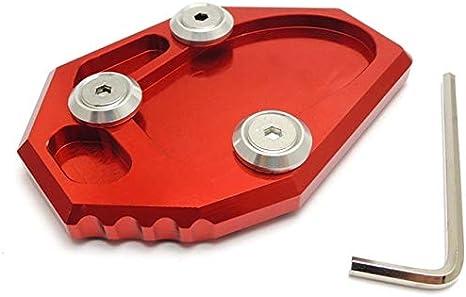XuBa pour Yamaha YZF MT-07/XJ6/Xj6/N FZ6/Fz6r CNC Moto B/équille lat/érale Support Plaque Extension