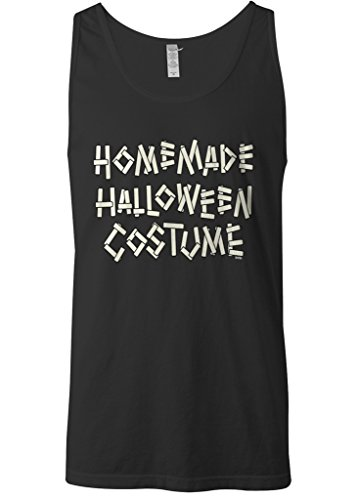 Mixtbrand Men's Homemade Halloween Costume Tank Top 2XL Black (Homemade Halloween Costumes For Men)