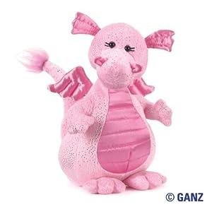 Webkinz Plush Stuffed Animal Glitzy Dragon from Ganz