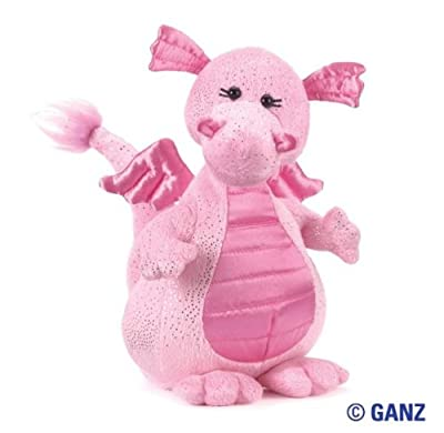 Webkinz Plush Stuffed Animal Glitzy Dragon from Ganz