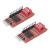 HiLetgo 2pcs PCF8574 PCF8574T IO Expansion Board