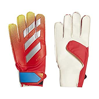 Adidas X Lite Gloves for Unisex, Active Red/Solar Yellow/Football Blue