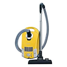 Miele Compact C1 Celebration Canister Vacuum in Yellow