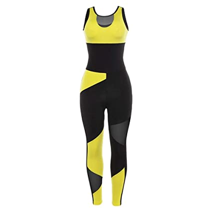 YANGCONG Ropa de Fitness de Yoga Traje Deportivo para Mujer ...