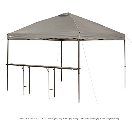 Ozark Trail Bar-Height 10 Folding Canopy Table