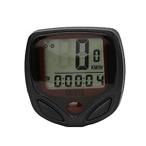 Mchoice Waterproof Bicycle Bike Cycle LCD Display Digital Computer Speedometer odometer