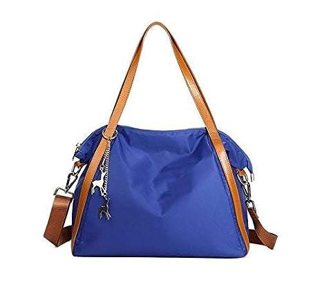 Hi-Smile Mini Cartera Bolsa de Lona para Damas, Estilo de Boston, Tela, Moda, Mano, elevación Monedero (Color : Violet): Amazon.es: Hogar