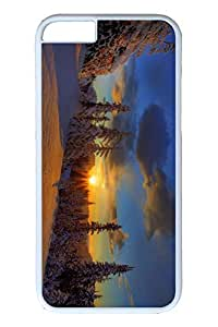Brian114 6 plus Case, iPhone 6 plus Case - Anti-Scratch Case Bumper for iPhone 6 Plus Winter Sun Slim Fit Case for iPhone 6 Plus 5.5 Inches