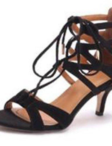 CITIOR Damen Plateau Schuhe Frauen Sandalen Büro Kleid Party Festivität Vlies Stöckelabsatz Absätze Schwarz/Weiß/Beige, beige-EU38/UK5.5/CN38 -