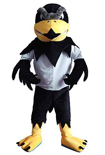CostumeShine Fierce Falcon Eagle Mascot Costume for Adult Men Women Animal Cartoon Costume]()