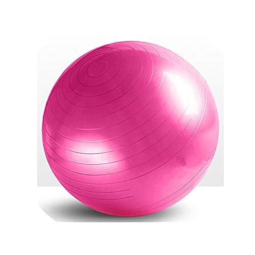 Fitness for Yoga Ball 95Cm Utility for Yoga Balls Pilates Balance Sport Proof Balls Anti-Slip Massage Training Exercise for Yoga Gym,Pink