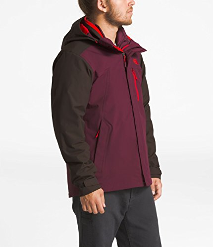 The North Face Men's Carto Triclimate Jacket - Bittersweet Brown & Fig - S by The North Face (Image #1)