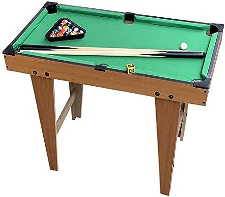 Billar de Juguete Deportes Juego de Billar Mesa Familiar Mesa de ...