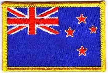 Flaggen Aufn/äher Patch Neuseeland Fahne Flagge NEU