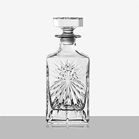 Decantador De Whisky Decantador De Licor Cristal Decantador de Vino Crystal Glass Whiskey Bottle Decanter 800ml (Color : #3)