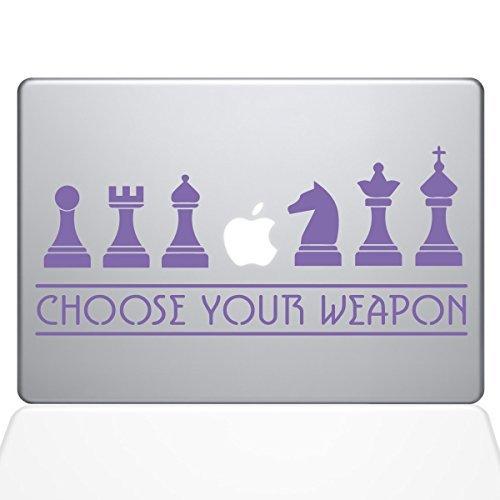 【正規通販】 The Decal Guru Chess - Pro Weapons [並行輸入品] Macbook Decal Vinyl Sticker - 13 Macbook Pro (2016 & newer) - Lavender (1277-MAC-13X-LAV) [並行輸入品] B0788G3YCS, セシール:f05faf2d --- a0267596.xsph.ru