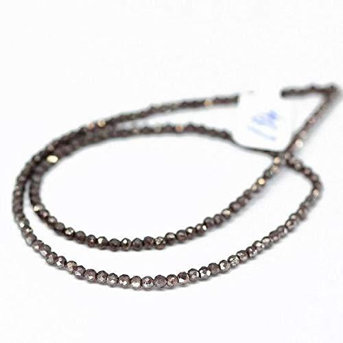 "KALISA GEMS Beads Gemstone Mystic Coated Red Almandine Garnet Loose Rondelle Gemstone Craft Beads 4"" 3mm"