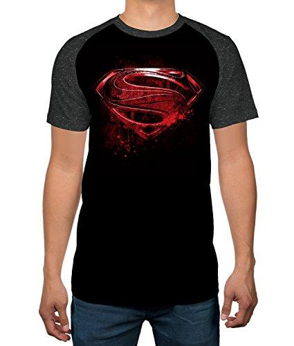 DC Comics Men's Superman Red Symbol T-shirt - M to XXL