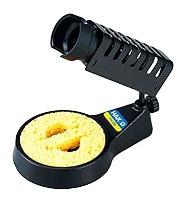 HAKKO Iron base for Ceramic heater soldering iron with cleaning sponge FH 300-81 (Japan Import)