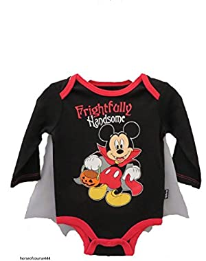 Disney Mickey Mouse Frightfully Handsome Halloween Baby Boys' Bodysuit Outfit
