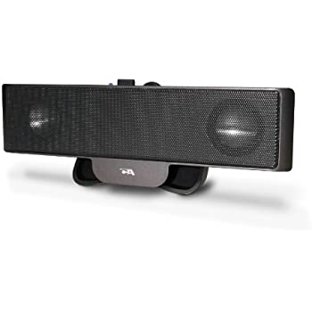 Cyber Acoustics Portable USB Laptop Speaker - Designed to travel (CA-2880)