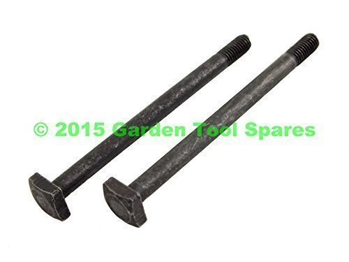 EXHAUST MUFFLER BOLT - PAIR FITS STIHL CHAINSAW 017 018 021 023 025 MS170 MS180 MS210 MS230 MS250 Garden Tool Spares