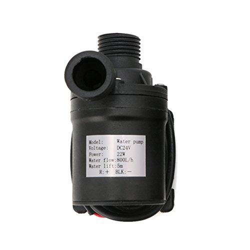 800L/H 5m DC 12V 24V Solar Brushless Motor Water Circulation Water Pump
