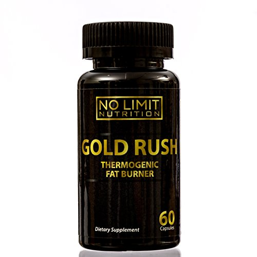 No Limit Nutrition Gold Rush Thermogenic Fat Burner Weight